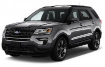 2018 Ford Explorer XLT FWD Angular Front Exterior View