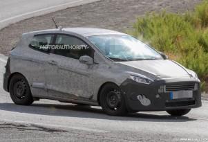 2018 Ford Fiesta 3-door spy shots - Image via S. Baldauf/SB-Medien