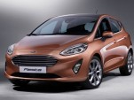 2018 Ford Fiesta (European spec)