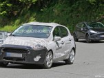 2018 Ford Fiesta spy shots - Image via S. Baldauf/SB-Median