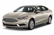 2018 Ford Fusion Hybrid SE FWD Angular Front Exterior View