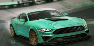 2018 Ford Mustang by Roush, 2017 SEMA show