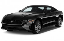 2018 Ford Mustang EcoBoost Fastback Angular Front Exterior View