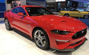 2018 Ford Mustang, 2017 Chicago auto show