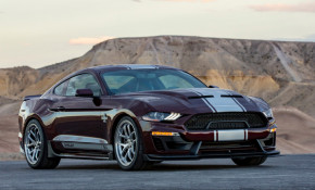 2018 Ford Shelby Super Snake equipped with available wide-body kit