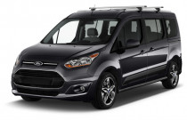 2018 Ford Transit Connect Wagon Titanium SWB w/Rear Liftgate Angular Front Exterior View