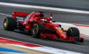 Ferrari's Sebastian Vettel at the 2018 Formula 1 Bahrain Grand Prix