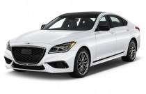 2018 Genesis G80 3.3T Sport AWD Angular Front Exterior View