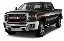 "2018 GMC Sierra 2500HD 2WD Crew Cab 153.7"" SLT Angular Front Exterior View"