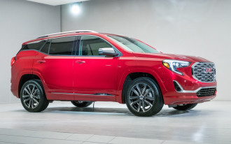 Running update to 2018 GMC Terrain, 2018 Chevy Equinox bolstered side-impact crash safety