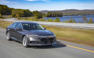 2018 Honda Accord premium-priced from $24,445