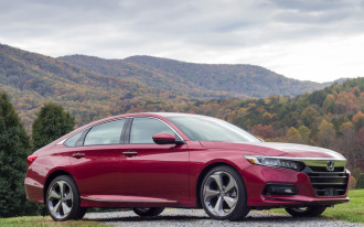 Highly acclaimed 2018 Honda Accord sees demand soften in favor of crossover SUVs