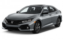 2018 Honda Civic Hatchback EX CVT Angular Front Exterior View