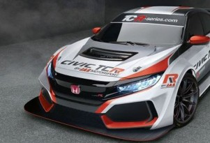 2018 Honda Civic Type R TCR race car