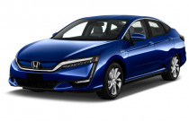 2018 Honda Clarity Electric Sedan Angular Front Exterior View