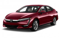 2018 Honda Clarity Plug-In Hybrid Sedan Angular Front Exterior View