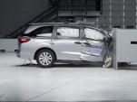 2018 Honda Odyssey in IIHS crash test