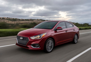 2018 Hyundai Accent small sedan debuts at minor auto show
