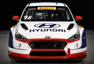 2018 Hyundai i30 N TCR race car