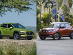 2018 Hyundai Kona and 2018 Nissan Kicks