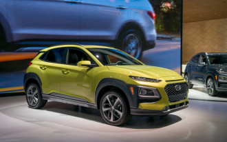 2018 Hyundai Kona small crossover debuts at LA auto show