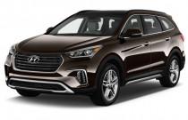 2018 Hyundai Santa Fe Limited Ultimate 3.3L Auto Angular Front Exterior View