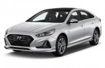2018 Hyundai Sonata Hybrid Limited 2.0L Angular Front Exterior View