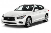 2018 INFINITI Q50 3.0t LUXE RWD Angular Front Exterior View