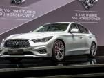 2018 Infiniti Q50, 2017 Geneva auto show