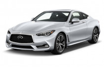 2018 INFINITI Q60 2.0t PURE RWD Angular Front Exterior View