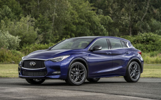 Updated 2018 Infiniti QX30 adds safety tech, reshuffles trim levels