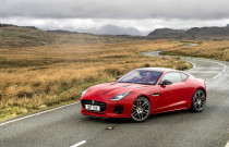 2018 Jaguar F-Type equipped with turbocharged 2.0-liter inline-4