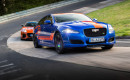 2018 Jaguar F-Type SVR and XJR575 Nürburgring Race Taxi