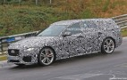 2018 Jaguar XF Sportbrake spy shots and video