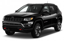 2018 Jeep Compass Trailhawk 4x4 Angular Front Exterior View