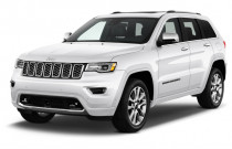 2018 Jeep Grand Cherokee Overland 4x2 Angular Front Exterior View
