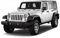 2018 Jeep Wrangler JK Unlimited Rubicon 4x4 Angular Front Exterior View