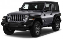 2018 Jeep Wrangler Sport 4x4 Angular Front Exterior View