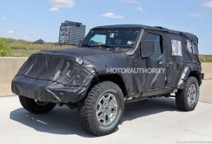 2018 Jeep Wrangler Unlimited spy shots - Image via S. Baldauf/SB-Medien