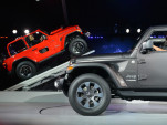 2018 Jeep Wrangler, 2017 Los Angeles auto show