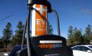 2018 Kia Niro Plug-In Hybrid charging at ChargePoint station, Santa Cruz, California, Dec 2017