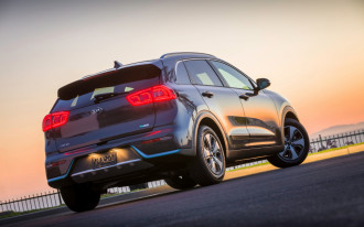 Kia Niro hybrid earns Top Safety Pick+ award