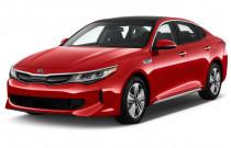 2018 Kia Optima Hybrid EX Auto Angular Front Exterior View