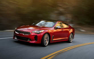 2018 Kia Stinger sport sedan will cost $32,795 to start; V-6 starts at $40K