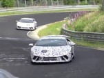 2018 Lamborghini Huracán Superleggera at the Nürburgring