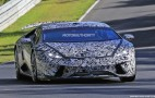 2018 Lamborghini Huracán Superleggera spy shots