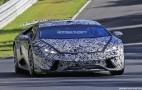 2018 Lamborghini Huracán Superleggera spy shots
