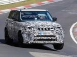 2018 Land Rover Range Rover Sport SVR facelift spy shots - Image via S. Baldauf/SB-Medien