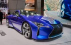 2018 Lexus LC 500h debuts at 2016 Geneva Motor Show: Live photos and video