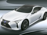 2018 Lexus LC 500h fitted with TRD exterior parts